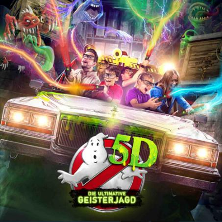 heide park attraktion ghostbusters 5d abenteuerhotel